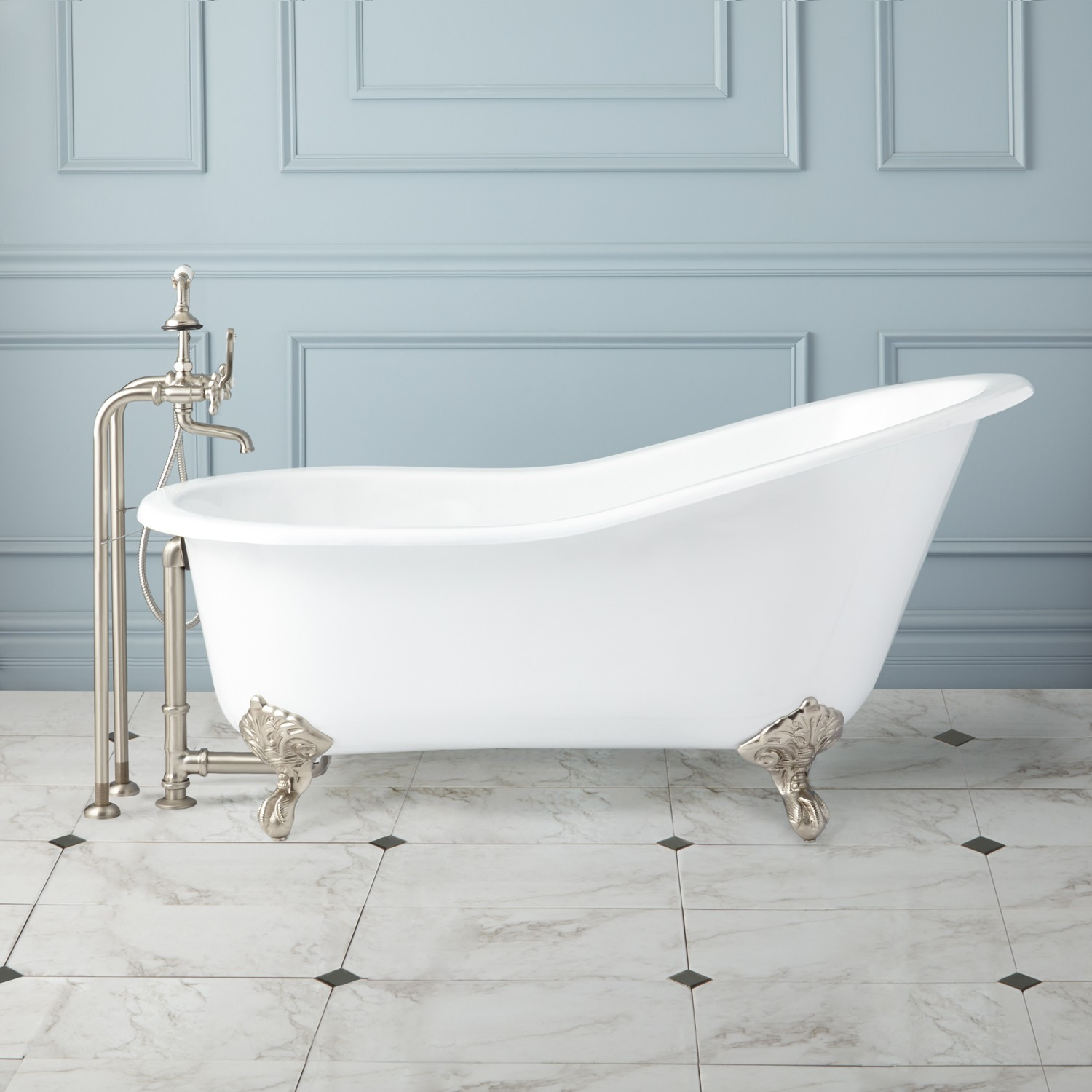 How a cast iron tub can improve your homes appearance
